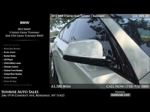 Used 2013 BMW 5 Series Gran Turismo | Sunrise Auto Sales, Rosedale, NY - SOLD