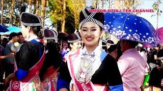 Miss hmong Laos 2018 los qhia tus kheej hauv tshav pob 30 hnub 26/11/2017 in Laos zoo nkauj heev
