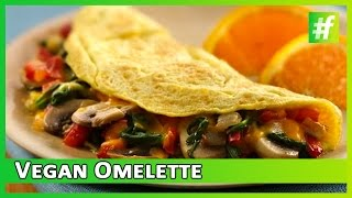 How To Make Vegan Omelette | Food Channel Healthy Recipe | #fame food