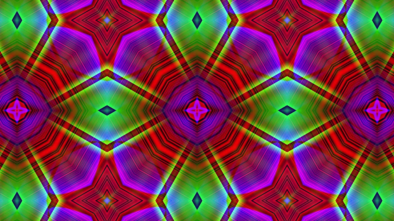Geometric kaleidoscope background free colorful hd motion background youtube - Colorful background hd ...