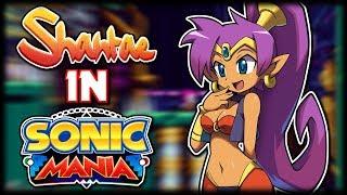 Shantae in Sonic Mania - Sonic Mania Mod Showcase