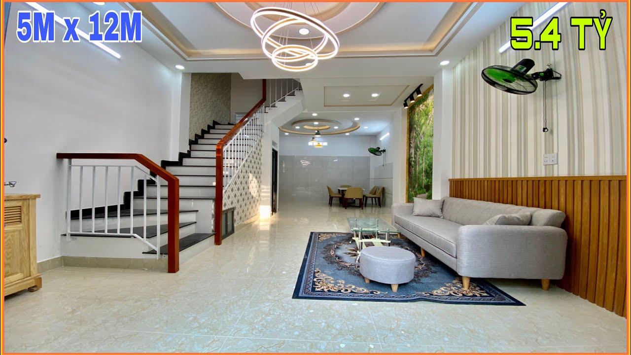 Bán nhà Gò Vấp | 312] Thăm quan 4 căn nhà đẹp ngang 5m giá bán rất rẻ tặng nội thất