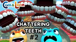 Cam & Leon | Chattering Teeth #2 | Cartoon for Kids | Funny Cartoon