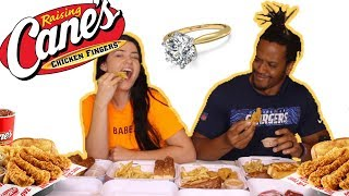 MUKBANG / PROPOSAL STORY / HE LOST MY RING ... TWICE -  I'M ON MY 4TH WEDDING RING