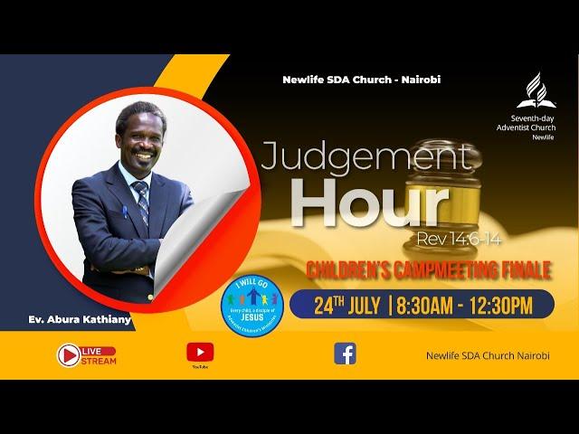 Sabbath Worship    Judgment Hour    Ev. Abura Kathiany    24th July 2021