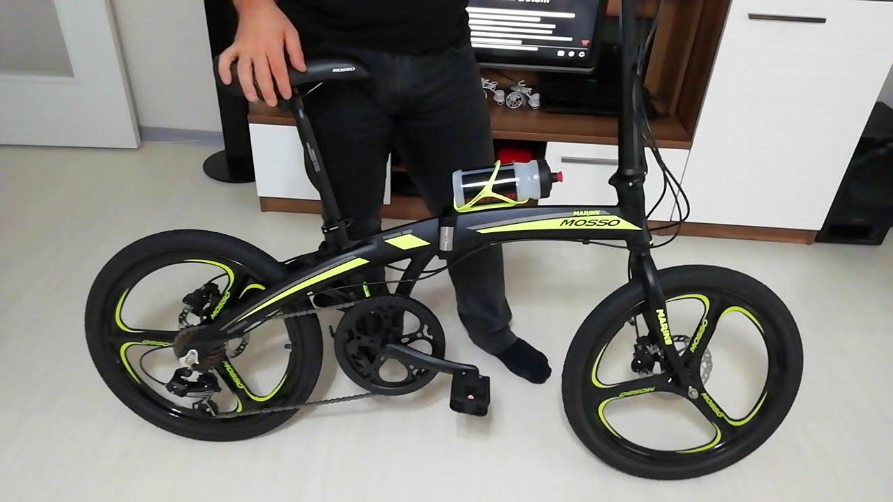 ((Mosso Marine 20 HYD)) hidrolik disk frenli Bisiklet katlandığında sorun çıkartır mı?