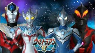 Ultraman Taiga Vs Ultraman Fuma  Ultraman Titas vs Ultraman Belial  UFE 0 mod texture