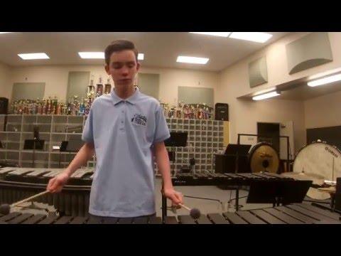 Undertale - Megalovania (Marimba solo)