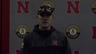 Danny Langsdorf following Thursday's practice 3/9/17