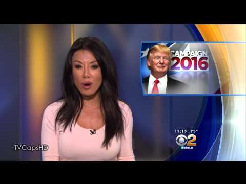 Sharon Tay 2015/07/21 CBS2 Los Angeles HD