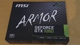 Unboxing Grafické kraty Geforce GTX1060
