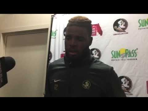 Florida State Seminoles QB Deondre Francois talks after loss to Syracuse