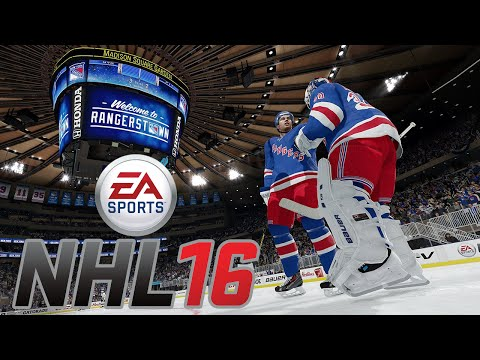 NHL 16 LEGACY EDITION - Gameplay - Vancouver Canucks vs. New York Rangers - [HD+]