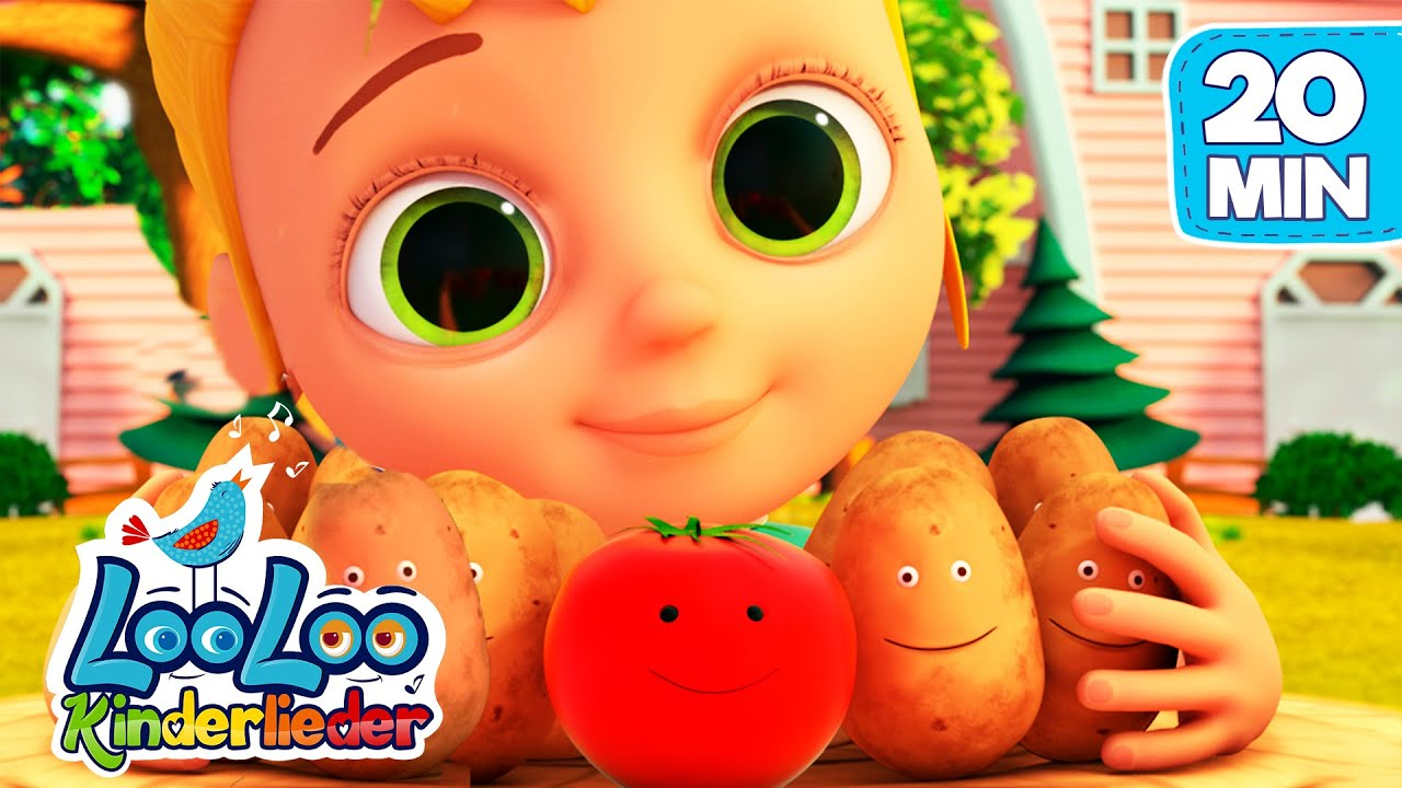 Kartoffel Lied | Sing Kinderlieder LooLoo | Kinderlieder zum Mitsingen