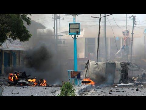 Terroristas atacam Ministério do Interior da Somália