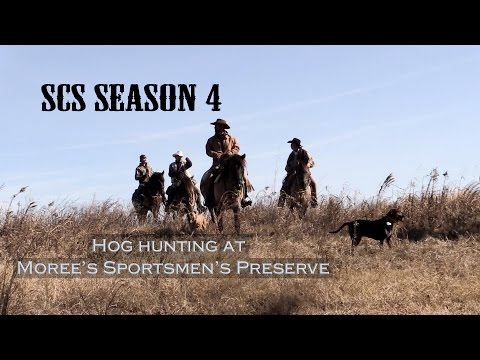 Hog Hunting with the Pee Dee Cowboys SCSTV