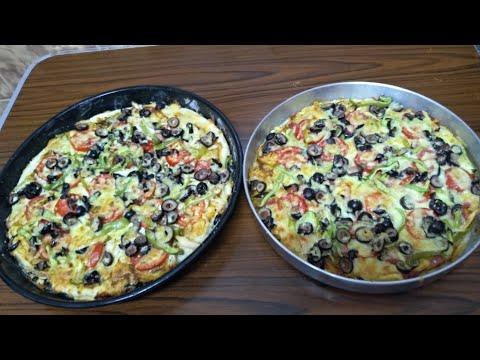 صورة  طريقة عمل البيتزا طريقه عمل البيتزا بالفراخ والجبنة بأبسط طريقة والطعم جنان طريقة عمل البيتزا بالفراخ من يوتيوب