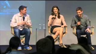 Logan Lerman and Alexandra Daddario interview at The Apple Soho Store (Part 1)