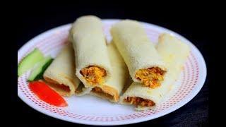 കബസ ഇലലത ഷവർമ തയറകക  Shawarma Recipe with BreadAnu&#39s Kitchen