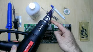 Desoldering DIP/Through-Hole ICs Wİth Inexpensive Tools