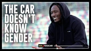 The Car Doesn't Know Gender | I AM NASCAR w/Brandon Marshall, Chad Johnson & More