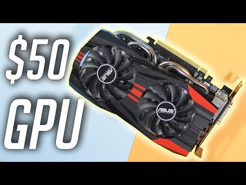 BEST $50 Graphics Card For 2019!