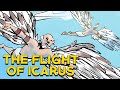 The Flight of Icarus - Greek Mythology in Comics - See U in History - Webcomic (Daedalus and Icarus)