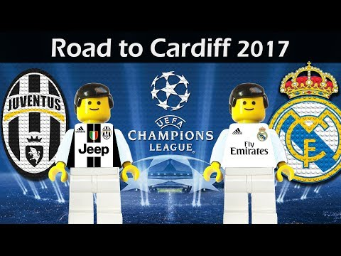 Road to Cardiff • UEFA Champions League Final 2017 • Juventus vs Real Madrid • Lego Football Film