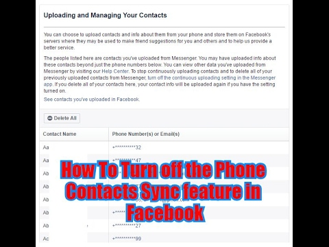 how to find phone contacts on facebook