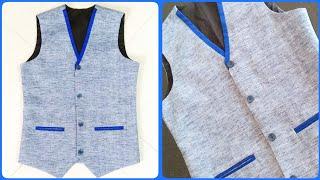 How to stitch Waistcoat