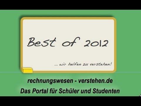 Best Of 2012 Rechnungswesen Verstehende Youtube