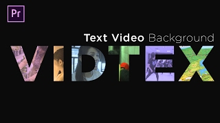 Premiere Pro Tutorial - Text Background Video [INDONESIA]