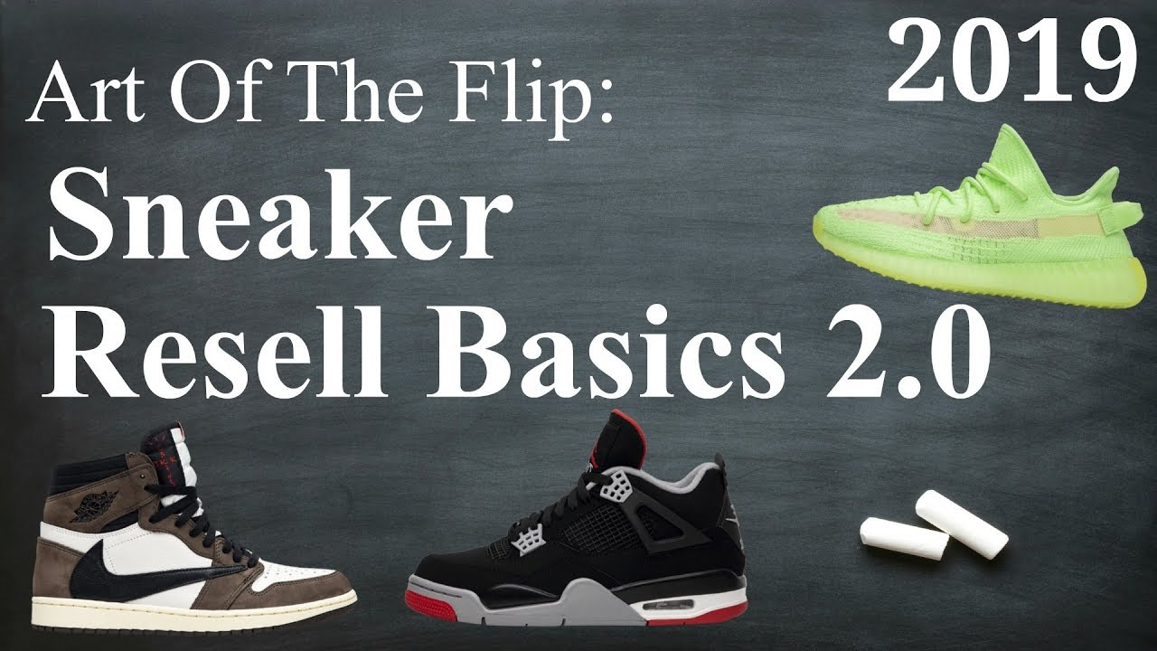 How To Resell Sneakers \