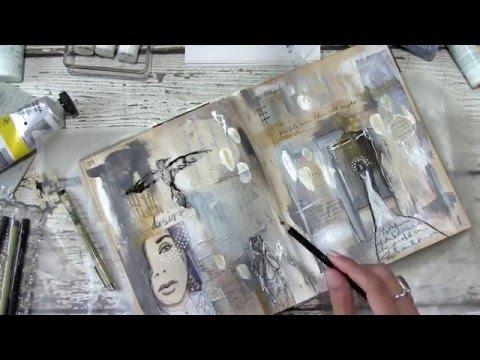 FREE Art journal video