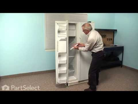 Refrigerator Repair - Replacing the Defrost Heater (GE part # WR51X442)