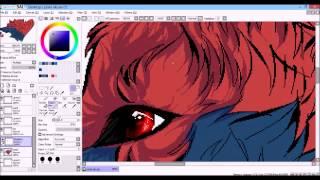 Okami - Oki Pixel Art (Speed Process)