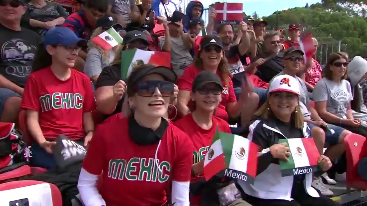 HIGHLIGHTS Denmark v Mexico - U-18 Men's Softball World Cup