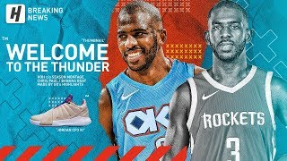BREAKING: Chris Paul TRADED to OKC Thunder! BEST Highlights from 2018-19 NBA Season!