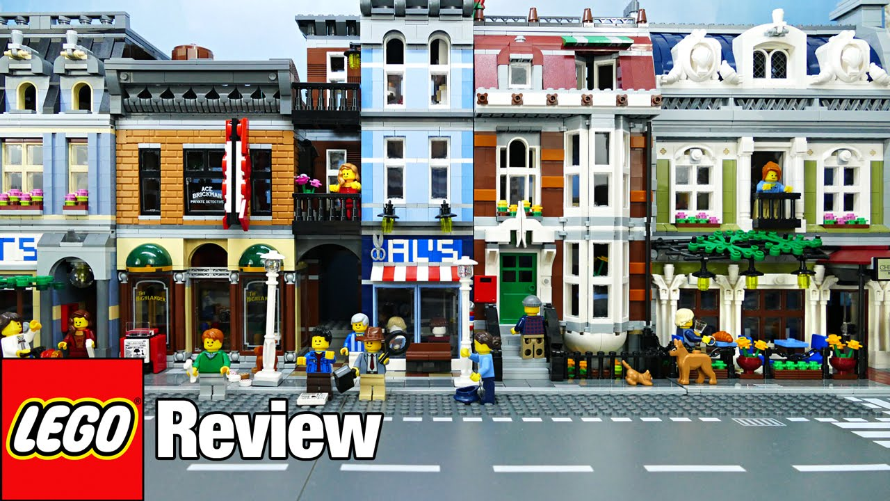 lego city street with parisian restaurant review mytoytv youtube. Black Bedroom Furniture Sets. Home Design Ideas