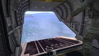 CH-47E Boat Pickup Ghostland ArmA 3