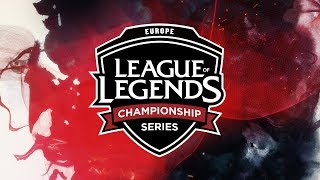 (REBROADCAST) EU LCS Summer Split (2018) | Week 9 Day 3 (Tiebreakers)