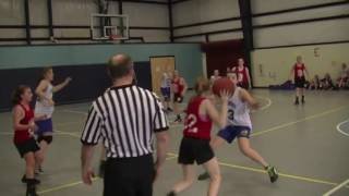 Acton Boxborough  Jr High Girls Basketball State Quarter Finals May 2012