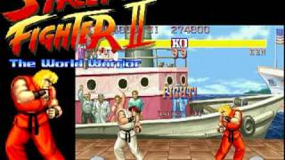 STREET FIGHTER2 KEN STAGE MUSIC