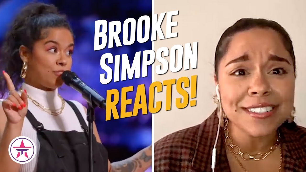 Brooke Simpson Compares Being On The Voice and America's Got Talent!