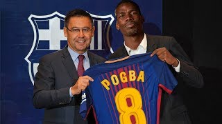 Paul Pogba Welcome To Barcelona? Confirmed & Rumours Summer Transfers 2018 |HD