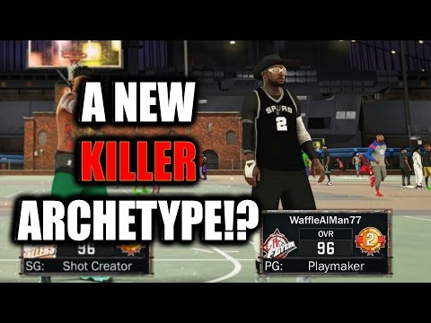 This Archetype DOMINATED Me! A NEW KILLER!?- NBA 2K17