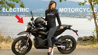 THE ELECTRIC MOTORCYCLE IS HERE - Zero DSR and FX test ride and review