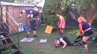 The Dawning & ? VS Team FTW & ? {3 on 3 Tag Team Match} CHW Backyard Wrestling