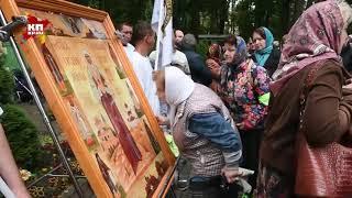 Верующие прошли из Ильинского в Усово в память о Великой княгине Елизавете