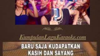 SENDIRI - MANSYUR S karaoke dangdut tembang kenangan ( tanpa vokal ) cover